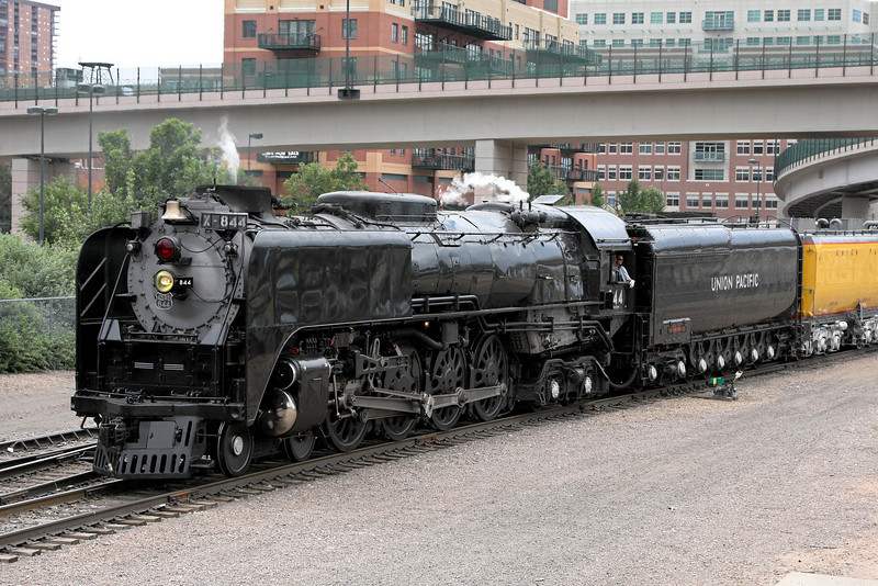 Backing into Denver Union Station