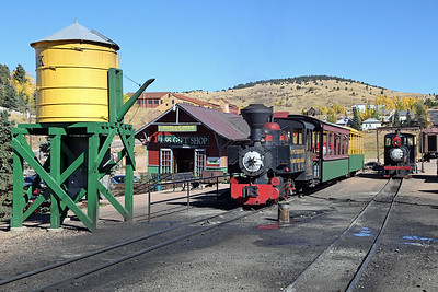 #3 and #1 at Cripple Creek Depot