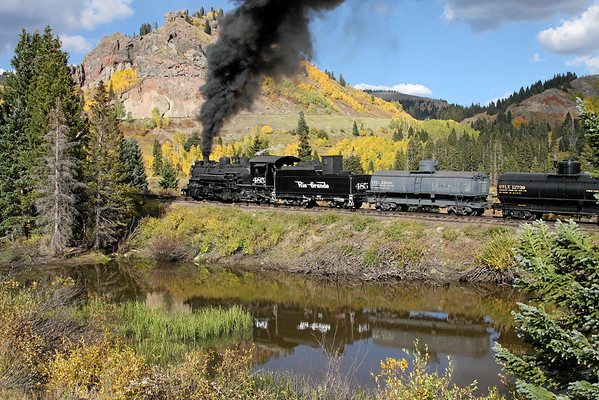 Cumbres & Toltec Railroad Freight Trains