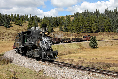 D&RGW 315 at Tanglefoot Curve