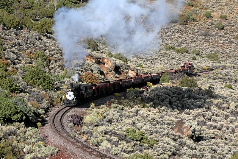 D&RGW 315 at MP 289