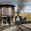 D&RGW 315 on the Cumbres & Toltec RR : D&RGW C-18 #315 on the Cumbres & Toltec Scenic Railroad - Antonito, CO to Chama, NM Photos from September 2009, featuring Denver & Rio Grande Western C-18 class steam locomotive #315 (Baldwin built 1895) in freight service on the Cumbres & Toltec Scenic Railroad. The 315 was restored by the Durango Railroad Historical Society in 2007 and is the oldest operating Rio Grande locomotive. Additional photos are available in the Cumbres & Toltec Scenic Railroad Passenger Train and Freight Train galleries.