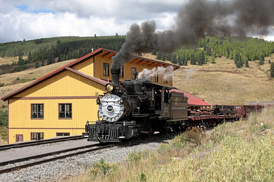 D&RGW 315 at Osier
