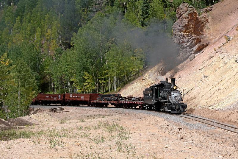 D&RGW 315 at Calico Cut (MP 313.2)