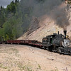 D&RGW 315 at Calico Cut (MP 313.2)