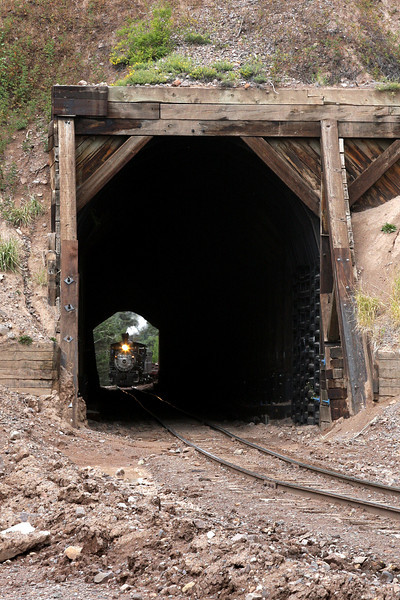 D&RGW 315 at Mud Tunnel