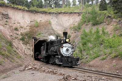 D&RGW 315 at Mud Tunnel