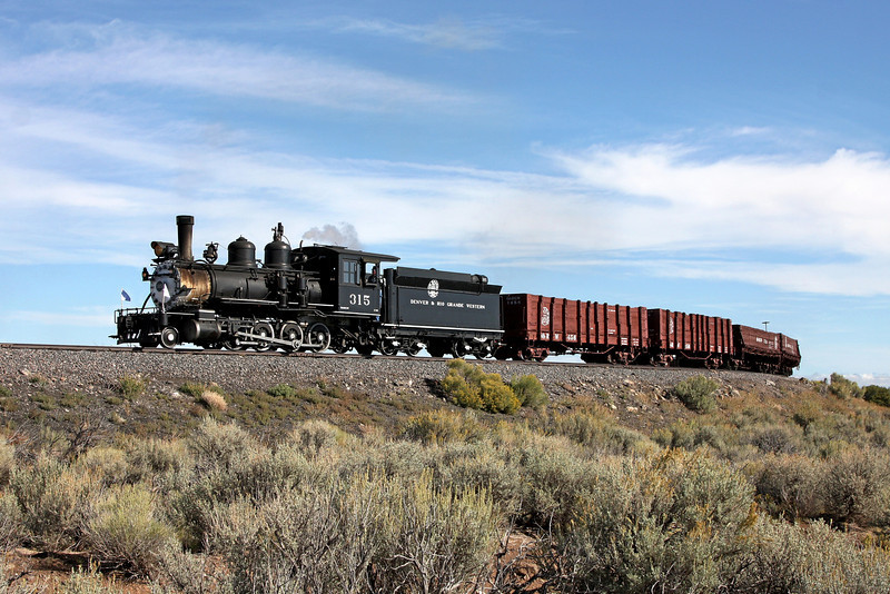 D&RGW 315 at Lava Loop