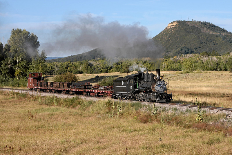 D&RGW 315 at Broad Spur