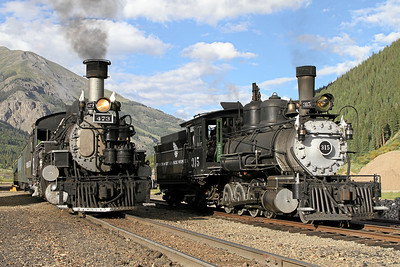 D&RGW 315 at Durango & Silverton