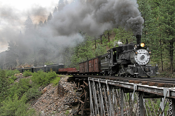 D&RGW 315 on the Durango & Silverton