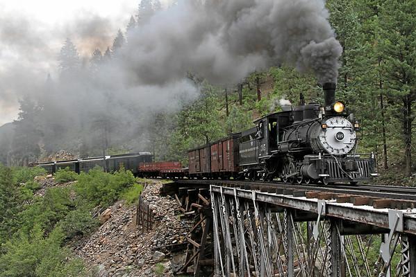 D&RGW 315 on the Durango & Silverton