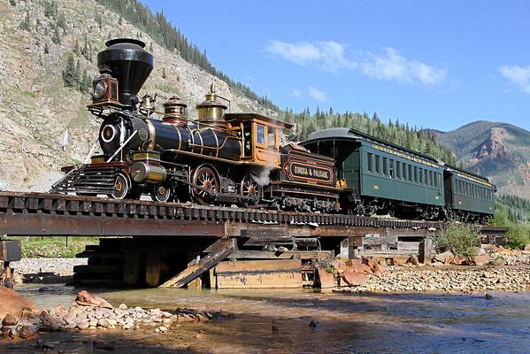 Eureka & Palisade #4 at Durango & Silverton