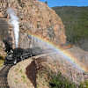 Durango & Silverton (Colorado) : Durango & Silverton Narrow Gauge Railroad - Durango, CO Photos from 2006-2010, featuring D&RGW 2-8-2 K-36 class steam locomotives 480, 481, 482 & 486 (Baldwin built 1925), K-28 class 473 & 478 (Alco built 1923), and RGS Galloping Goose railcar #5 (built 1928). For additional photos from the Durango & Silverton, please see the Eureka & Palisade #4 Gallery and D&RGW #315 Gallery. The Durango & Silverton operates daily steam trains on the ex-Denver & Rio Grande Railway's 45-mile Silverton Branch (built 1882) between Durango and the former mining camp of Silverton. For more information, visit the Durango & Silverton Website.