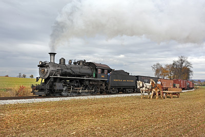 Strasburg, Pennsylvania - November 2017