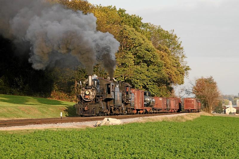 Strasburg, Pennsylvania (Cherry Hill) - November 2007
