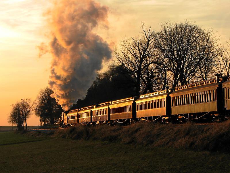 Strasburg, Pennsylvania - November 2006