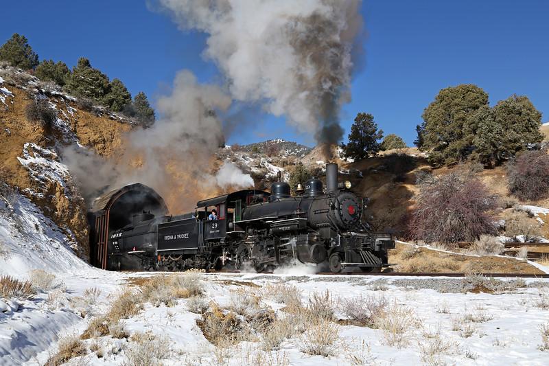 Virginia City, Nevada - February 2014