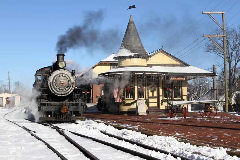 New Hope, Pennsylvania - December 2012