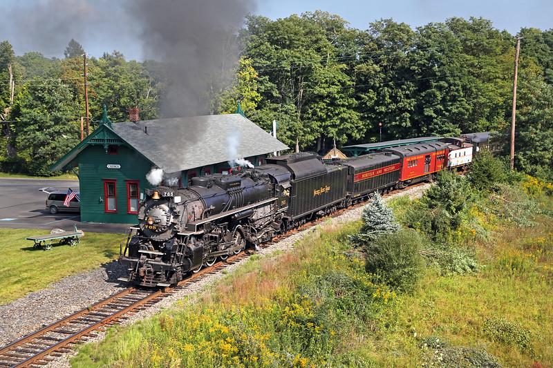 Cresco, Pennsylvania - September 2015