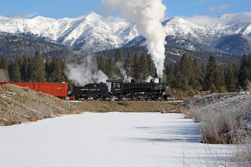 Sumpter, Oregon - February 2014