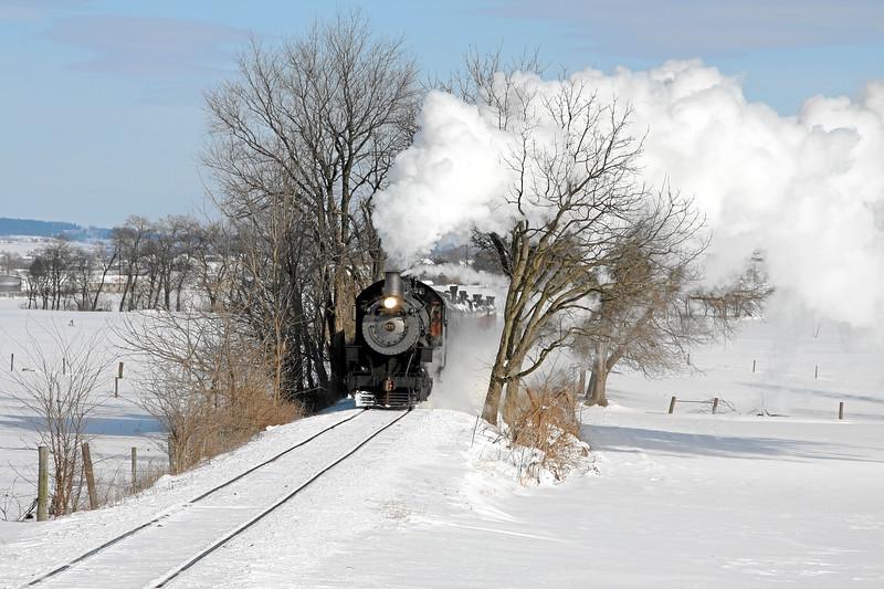 Strasburg, Pennsylvania - December 2009