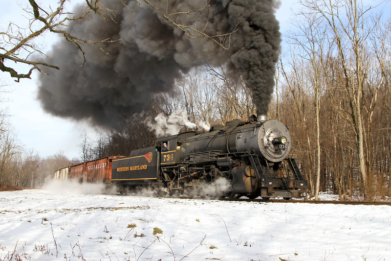 Mt. Savage, Maryland (Sunnyside) - January 2013
