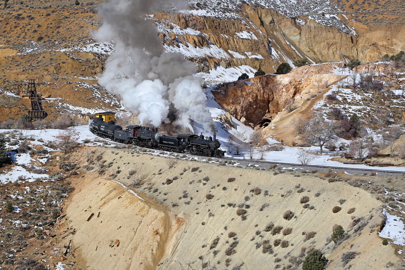 Gold Hill, Nevada - February 2014