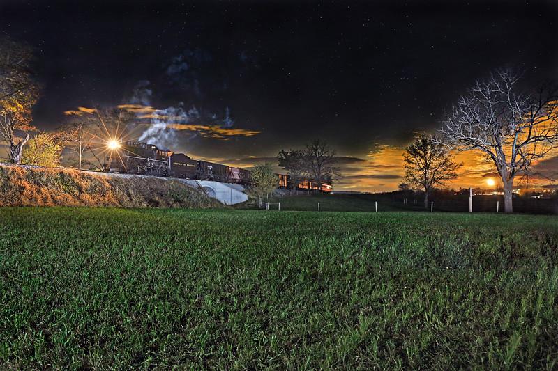 Strasburg, Pennsylvania - November 2017