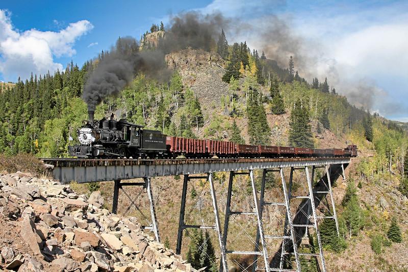 Osier, Colorado (Cascade Trestle) - September 2009
