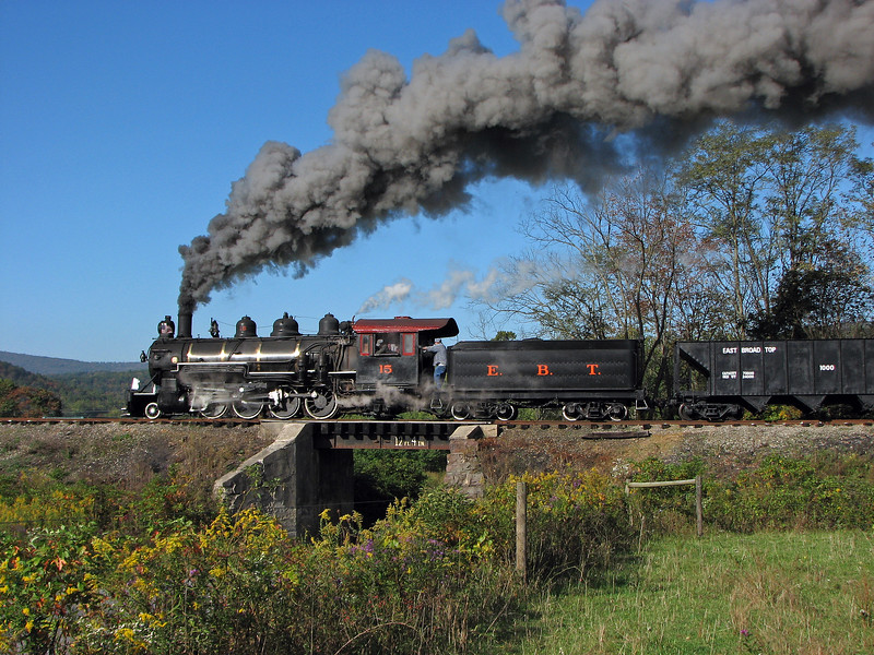 Orbisonia, Pennsylvania (Long Fill) - October 2006