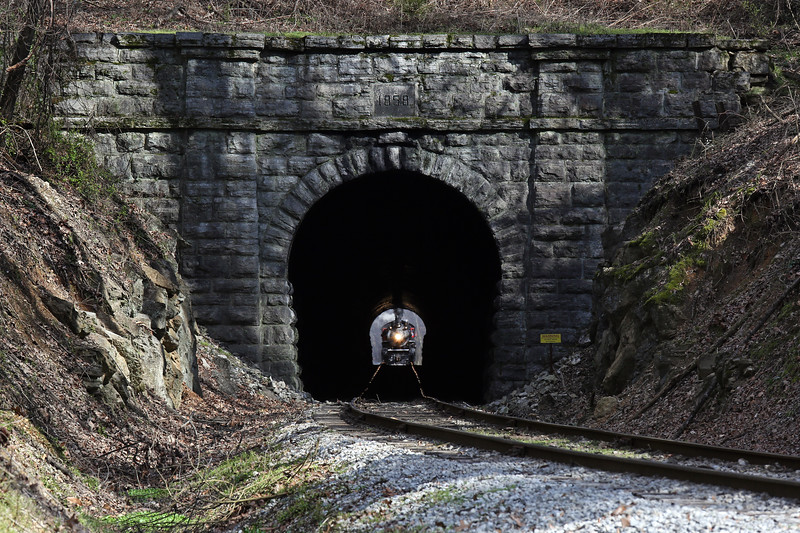 Chattanooga, Tennessee (Missionary Ridge Tunnel) - March 2018
