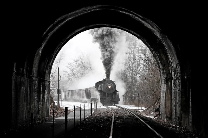 Corriganville, Maryland (Brush Tunnel) - January 2013