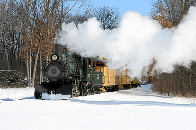 Huckleberry Railroad at Crossroads Village