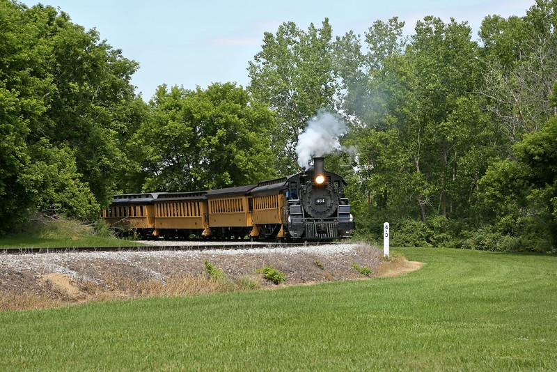 Huckleberry Railroad at Crossroads Village
