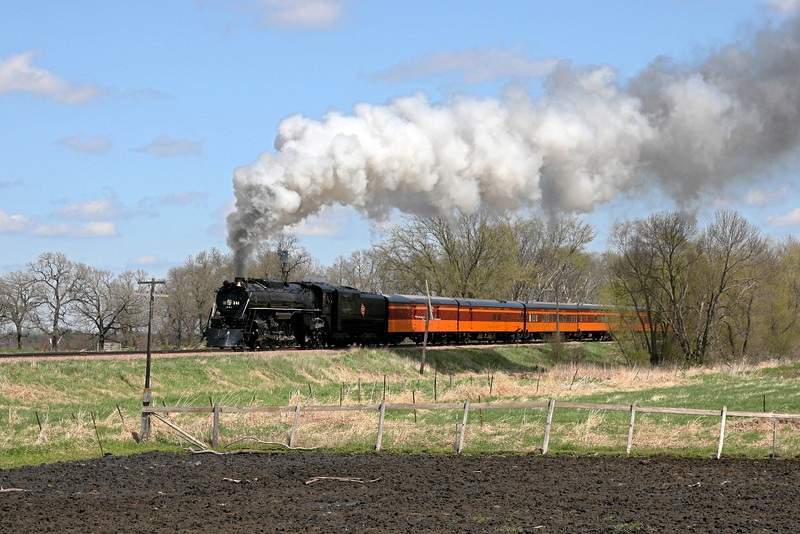 Milwaukee Road 261 at Plato, Minnesota