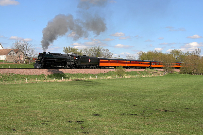 Milwaukee Road 261 at Norwood, Minnesota