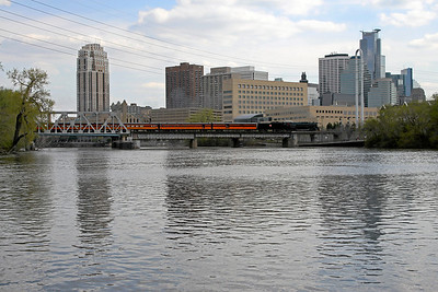 Milwaukee Road 261 at Minneapolis, Minnesota