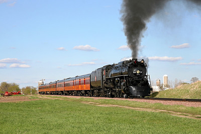 Milwaukee Road 261 at Augusta, Minnesota