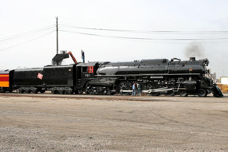 Milwaukee Road 261 at Minneapolis, Minnesota