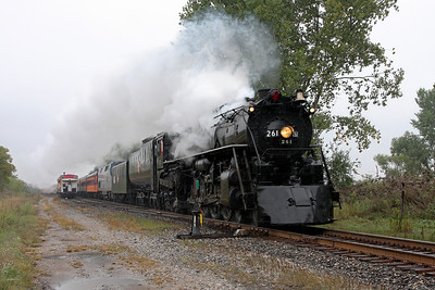 Milwaukee Road 261 southbound at Weaver, MN