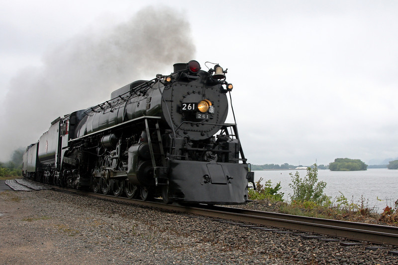 Milwaukee Road 261 southbound at Winona, MN