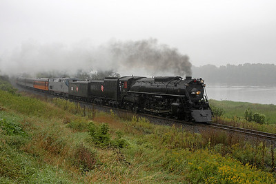Milwaukee Road 261 southbound at Dakota, MN