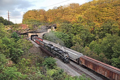Nickel Plate 765 at Nay Aug Tunnel