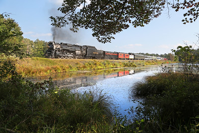 Nickel Plate 765 at Gouldsboro