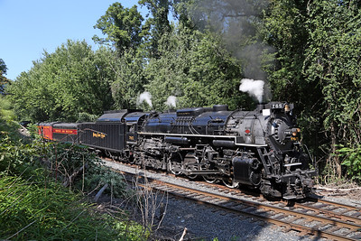 Nickel Plate 765 at Slateford