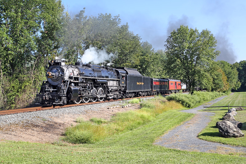 Nickel Plate 765 at Delaware Water Gap (Minisink Park)