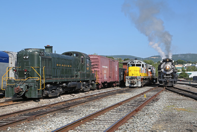 Nickel Plate 765 at Steamtown