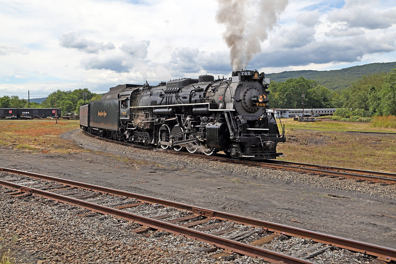 Nickel Plate 765 at Pittston