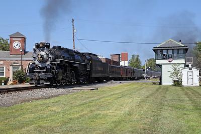 Nickel Plate 765 at East Stroudsburg
